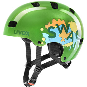 UVEX Kid 3 Helmet Barn green